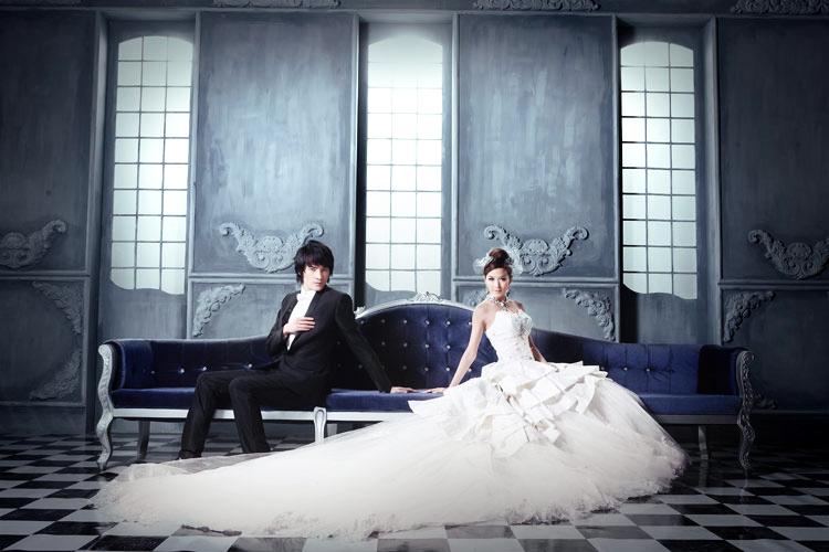 欧式婚纱照片欣赏-a9婚纱照